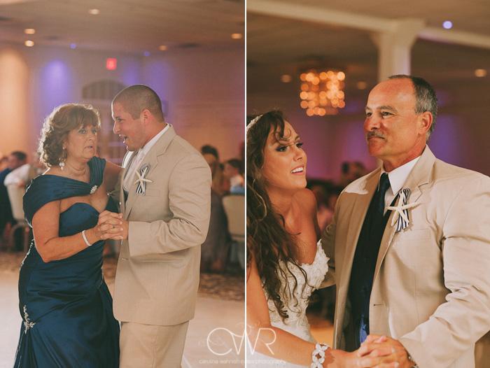 Wedding at Crystal Point Yacht Club: parent dances