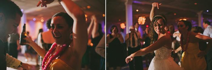 Wedding at Crystal Point Yacht Club dancing photos