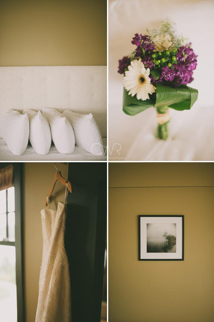 Lake House Inn Perkasie PA Wedding: modern rustic details