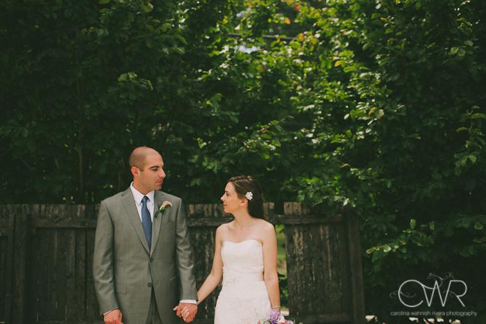 Lake House Inn Perkasie PA Wedding: bride and groom portrait
