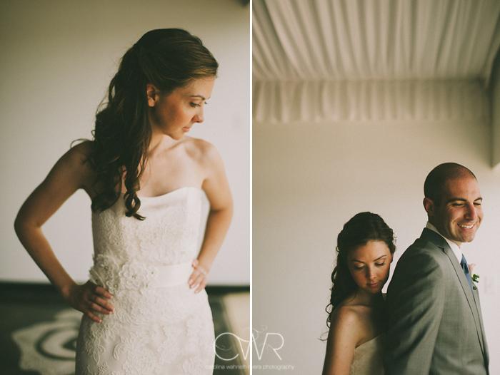 Lake House Inn Perkasie PA Wedding: bride and groom in tent