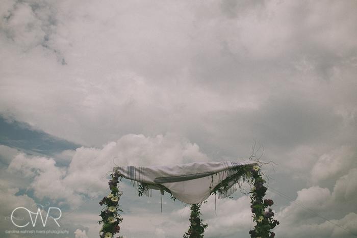 Lake House Inn Perkasie PA Wedding: chuppah