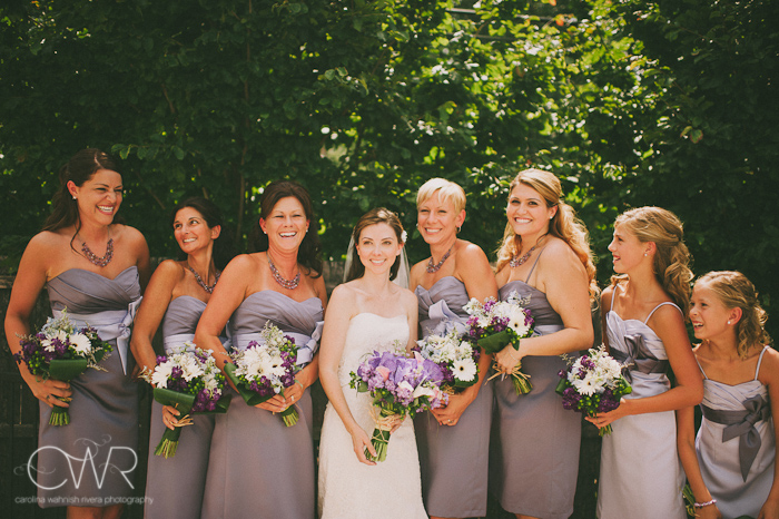 Lake House Inn Perkasie PA Wedding: bridesmaids