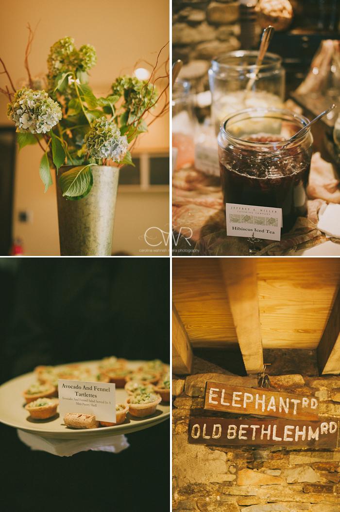 Lake House Inn Perkasie PA Wedding: cute country style details