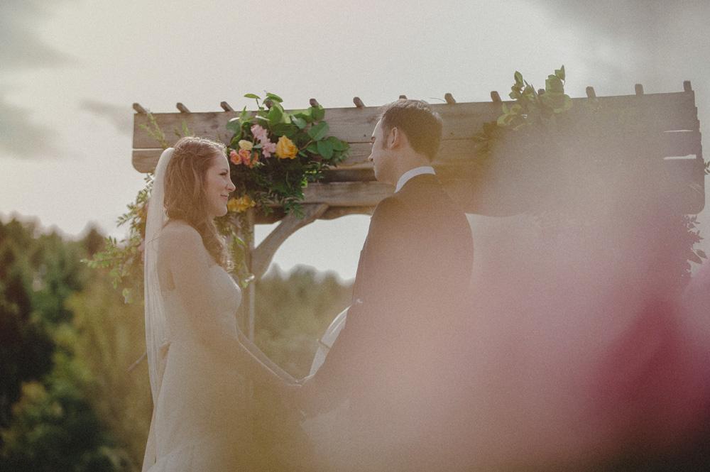 outdoor PA wedding ceremony