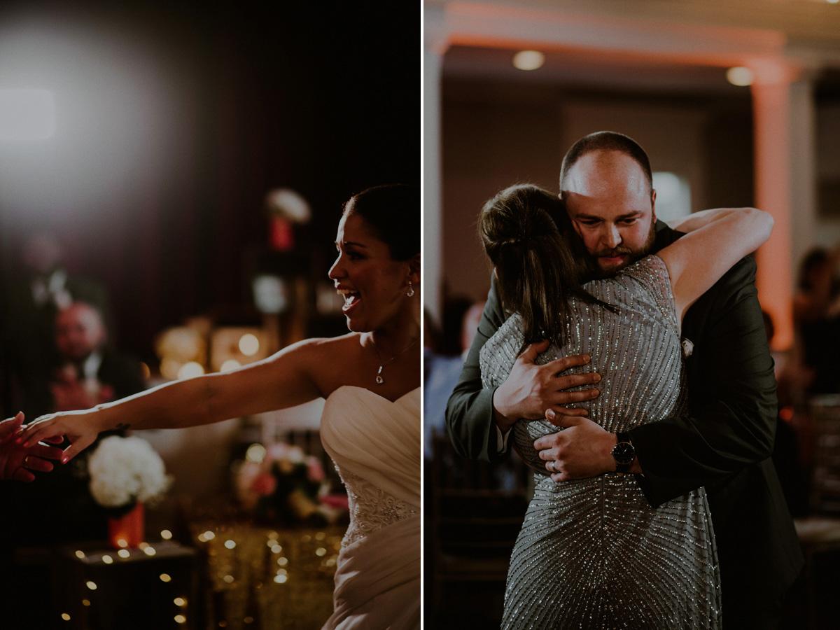 dramatic wedding photos
