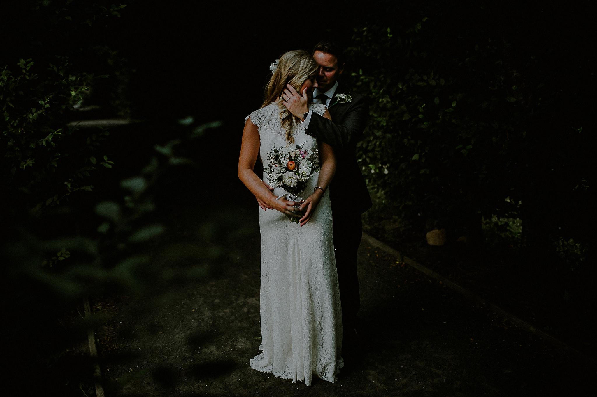 botanical gardens wedding photos