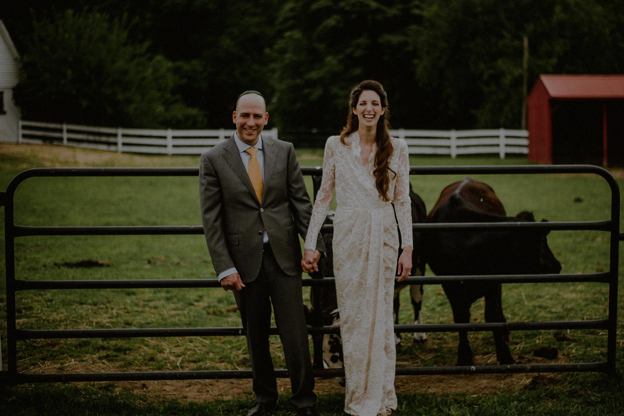 nj farm wedding photos
