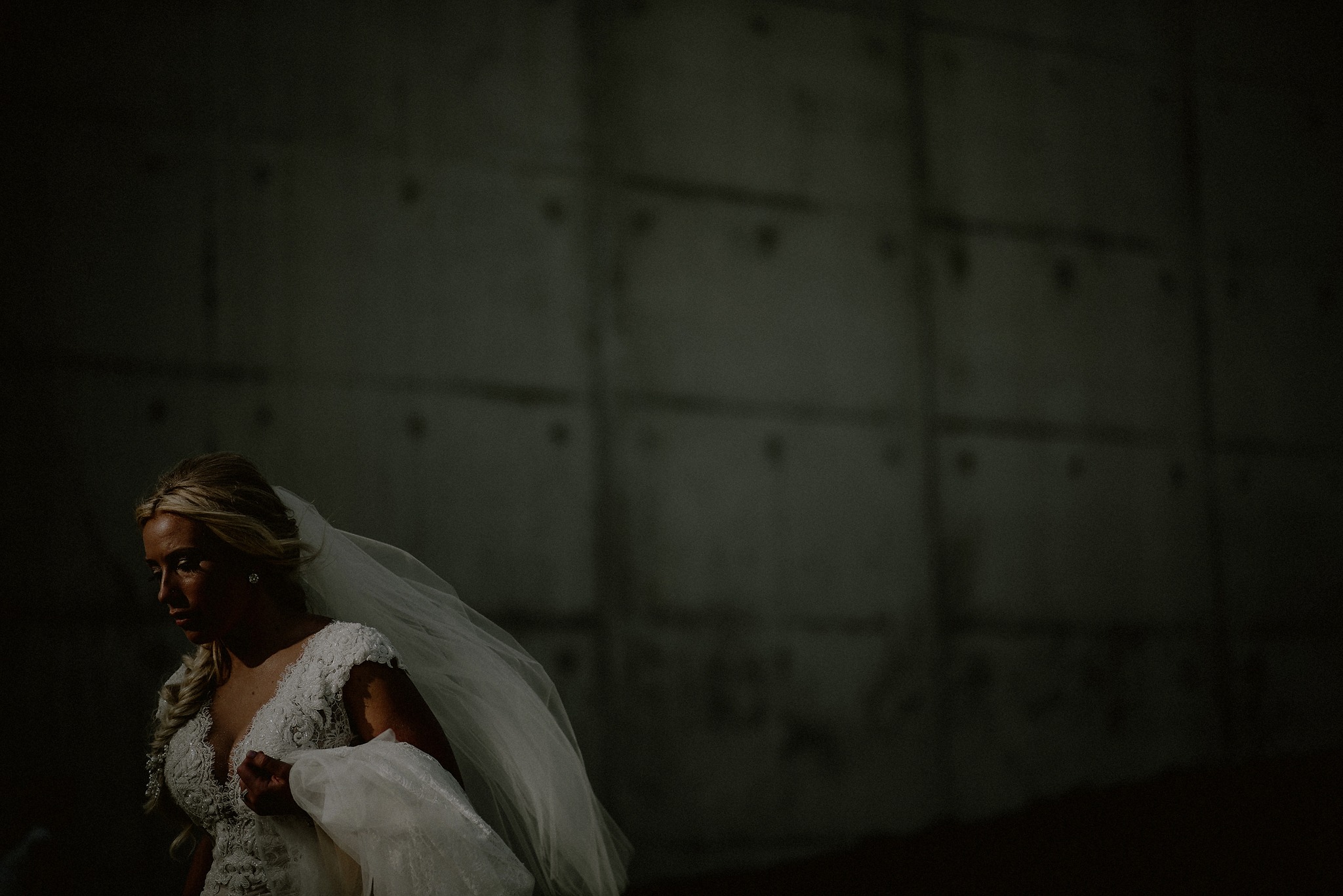 liberty state park wedding portraits