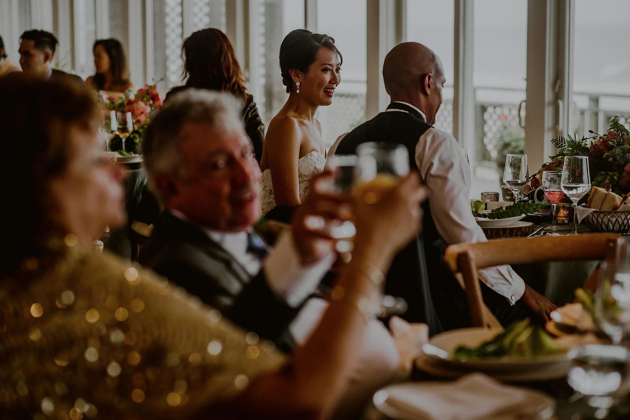 simple wedding reception in hamptons