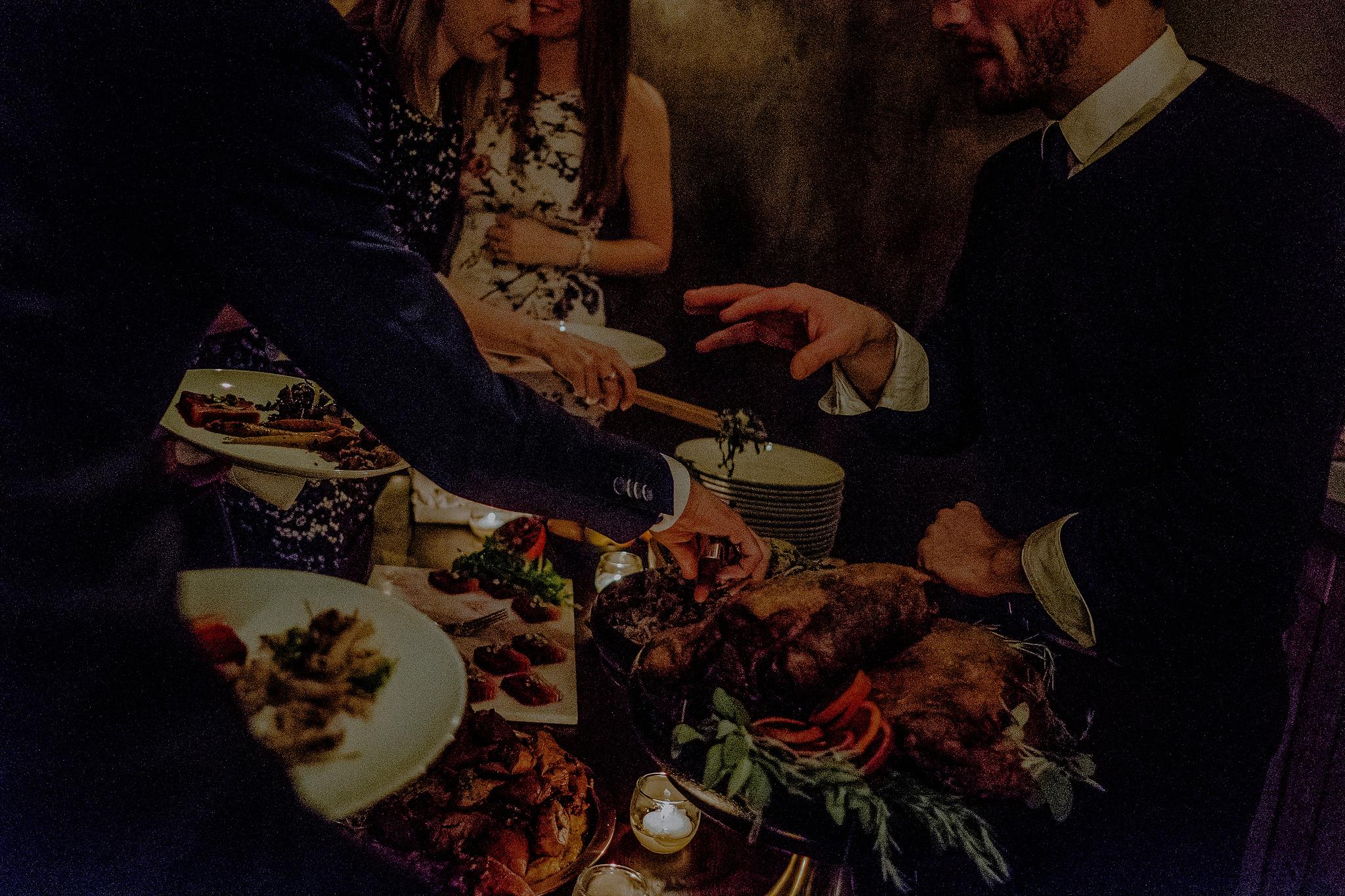 foody wedding