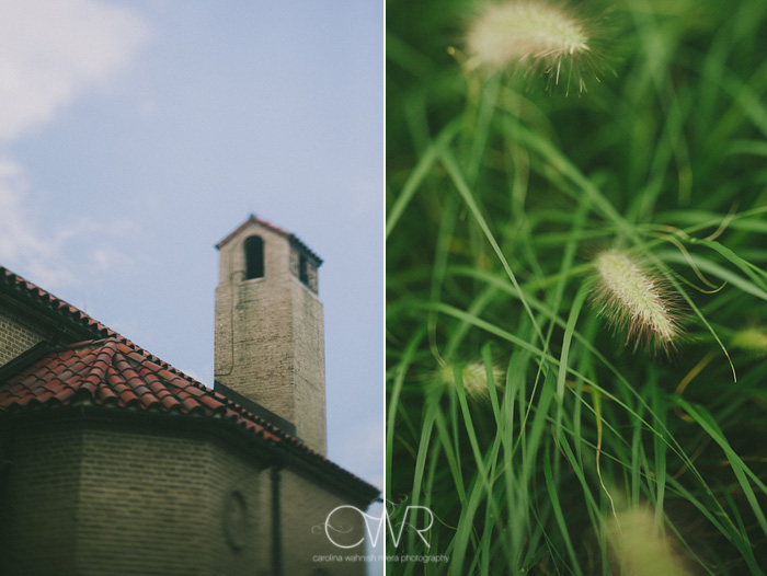 St Mary of the Lake church wedding: exterior details