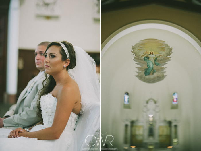 St Mary of the Lake church wedding 2