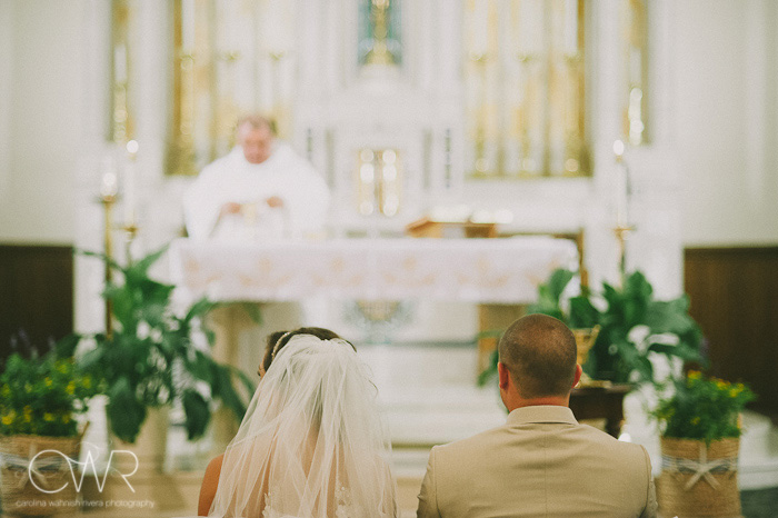 St Mary of the Lake church wedding