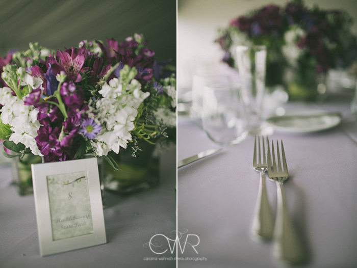 Lake House Inn Perkasie PA Wedding: modern elegant reception details