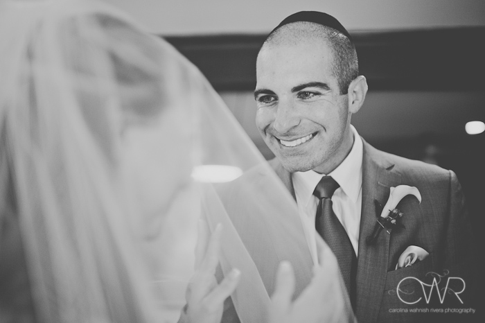 Lake House Inn Perkasie PA Wedding: groom unveiling bride