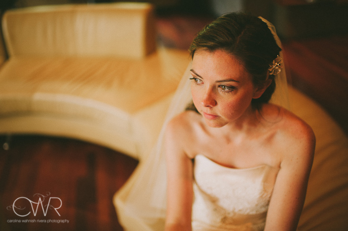 Lake House Inn Perkasie PA Wedding: bride patiently waiting