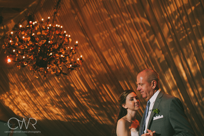 Lake House Inn Perkasie PA Wedding: father daughter dance