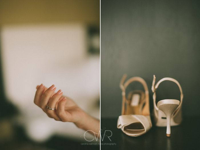 Lake House Inn Perkasie PA Wedding: badgley mischka shoes and ring