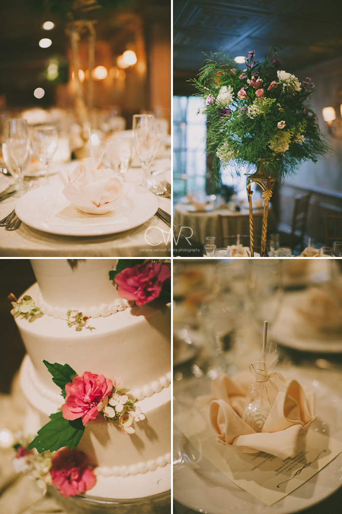 Olde Mill Inn Basking Ridge NJ Wedding: details and decoration