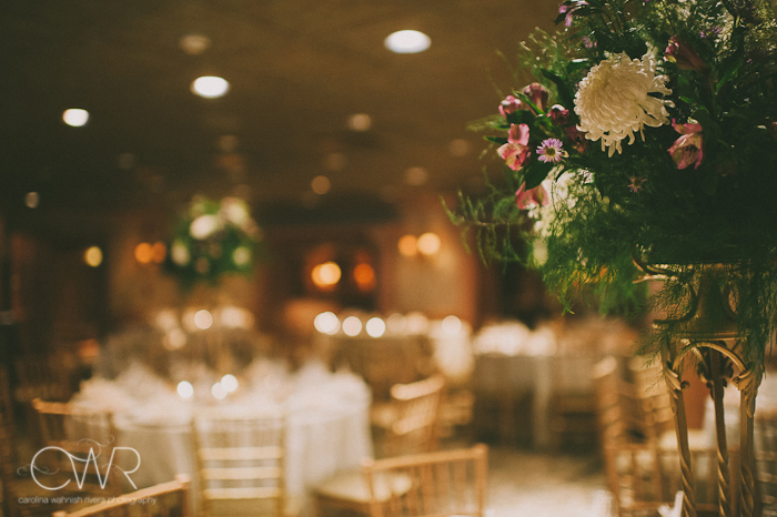 Olde Mill Inn Basking Ridge NJ Wedding: room decoration