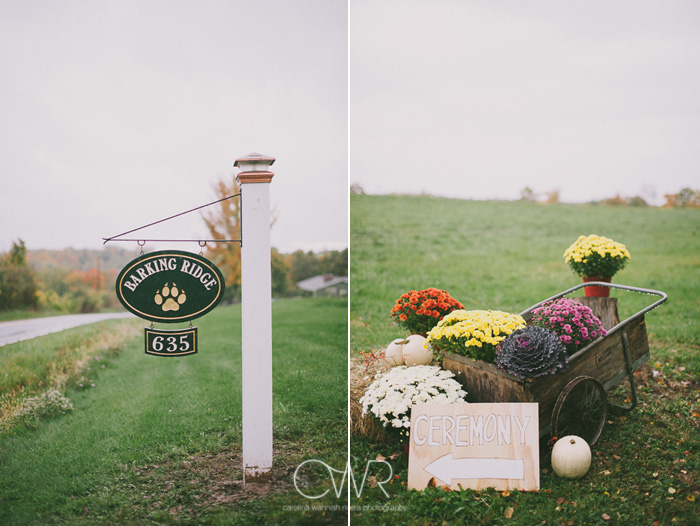 october wedding vintage farm details in upstate ny