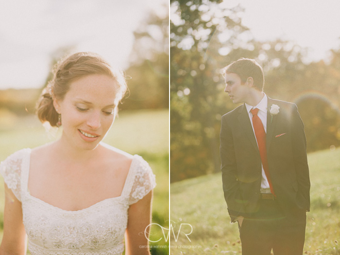 new york wedding photos in old chatham, portrait of bride and groom