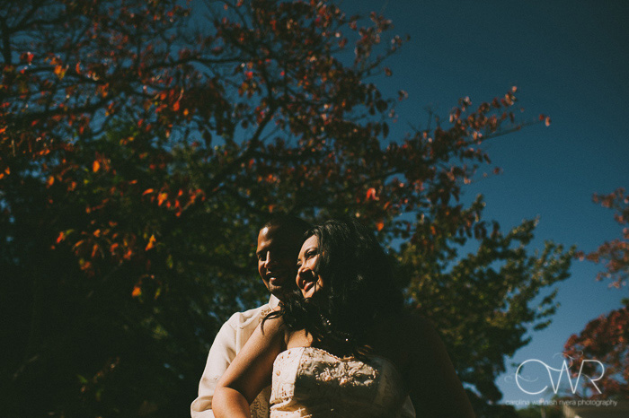 artistic wedding photos of interracial wedding couple