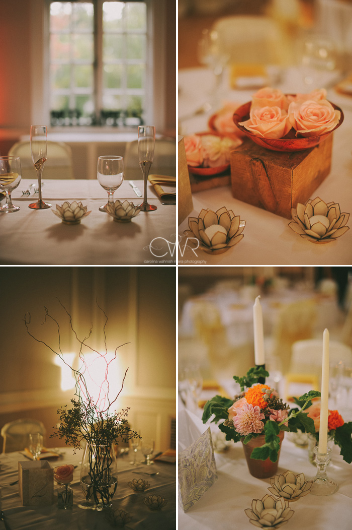 vintage wedding photography handmade reception details