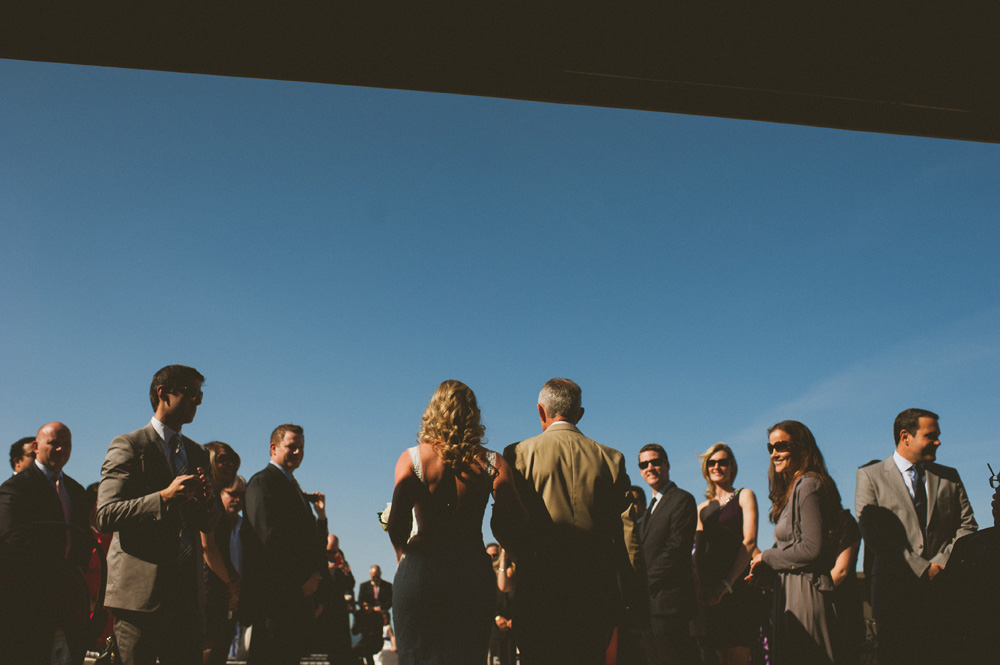 Avenue Long Branch Wedding ceremony on the rooftop