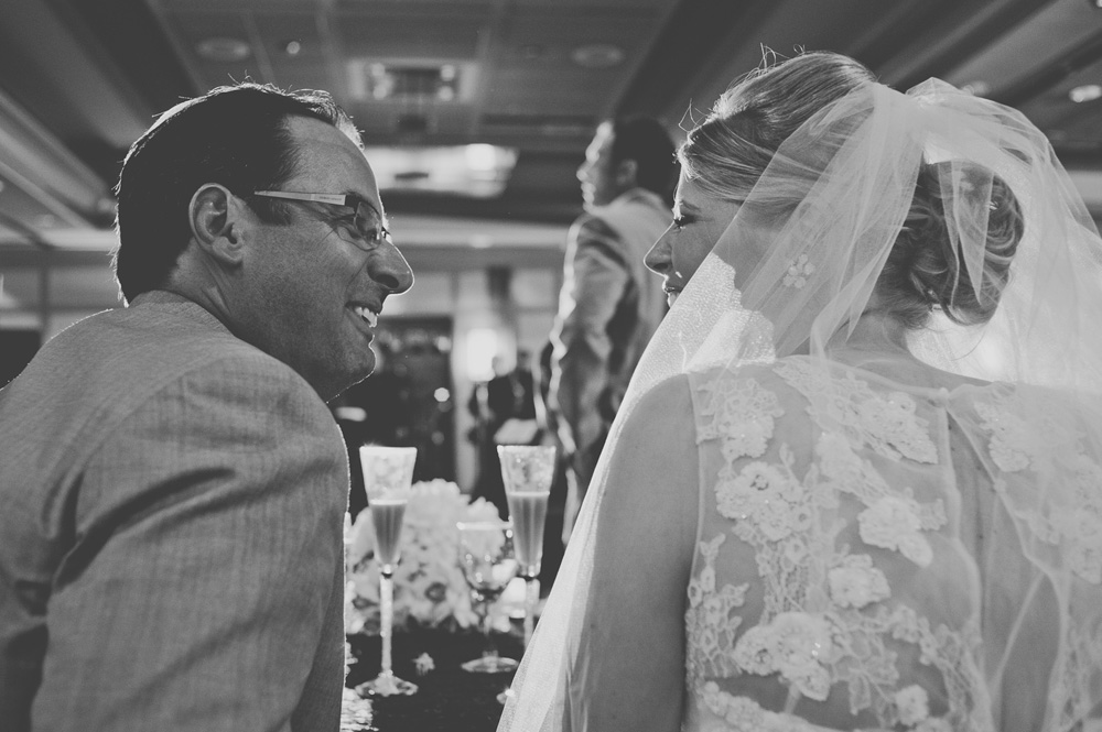 emotional wedding photos in black and white