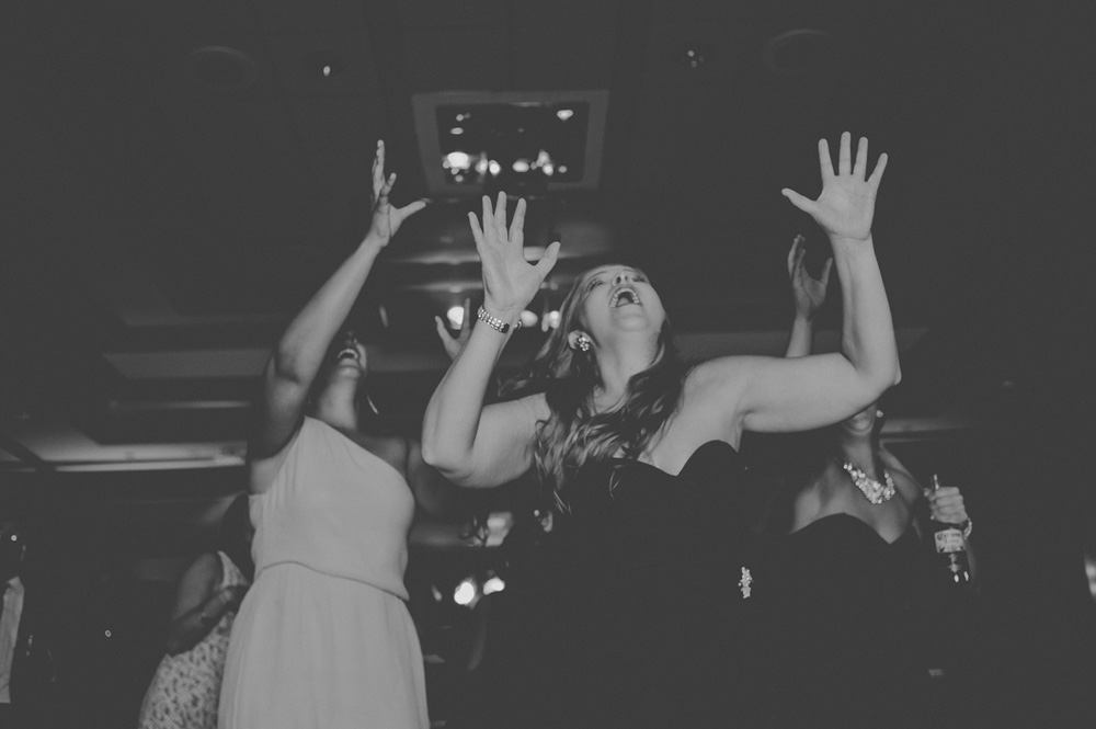 fun wedding reception photos