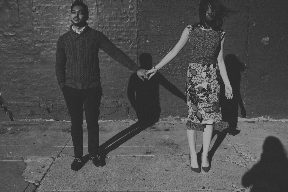 edgy NYC couples photos