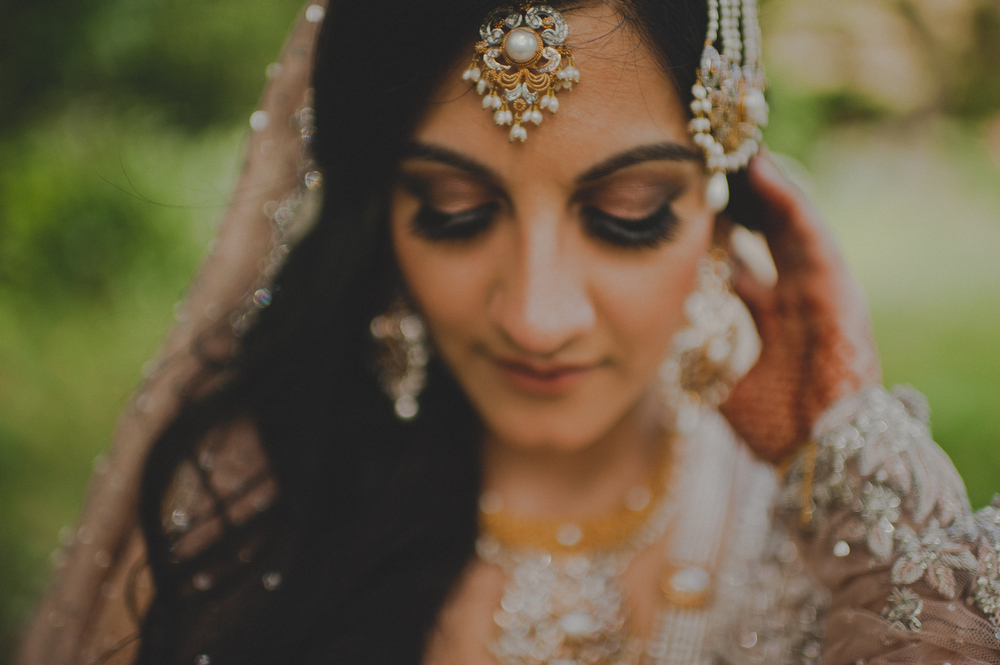 unique south asian wedding portraits