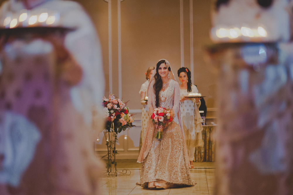 beautiful muslim bride ceremony