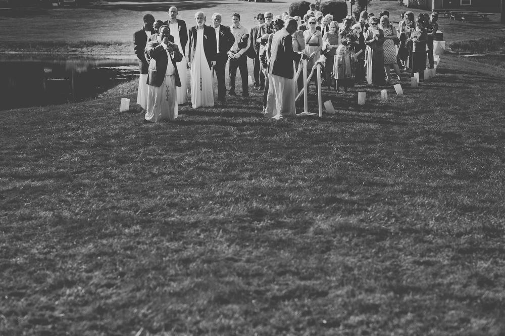 black and white creative wedding photographs