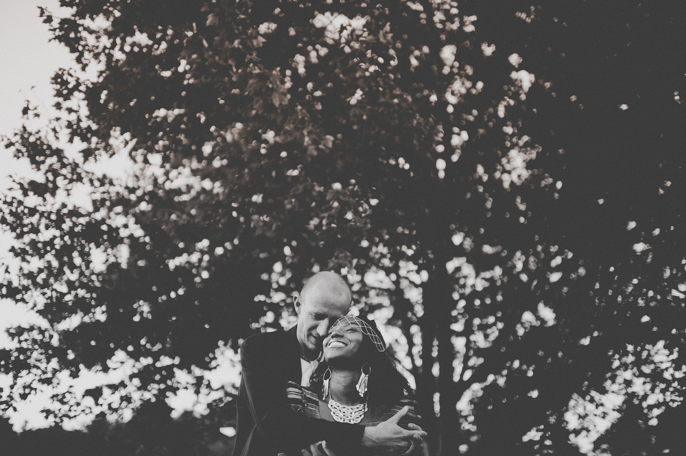 fine art black and white wedding photos