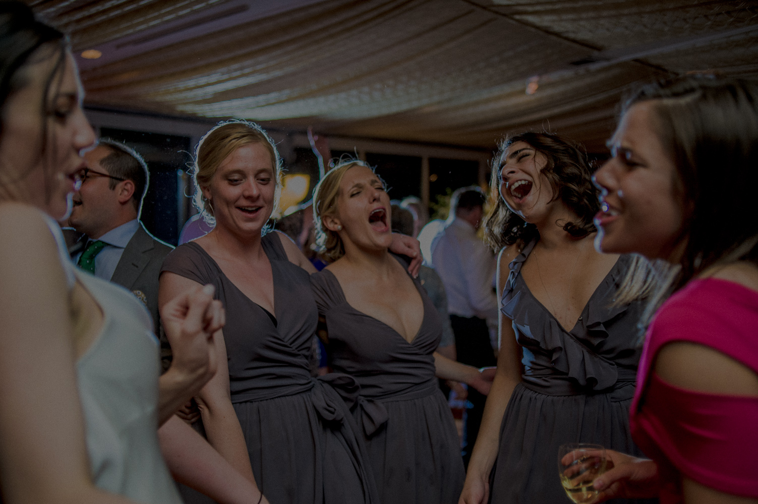 crazy wedding reception photos