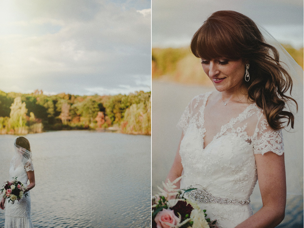 New jersey fall wedding photos