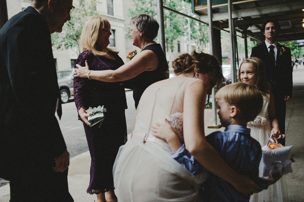 beautiful nyc church wedding