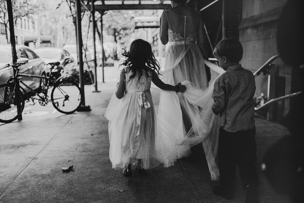 bw fine art wedding photography