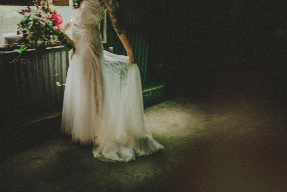 factory wedding photos