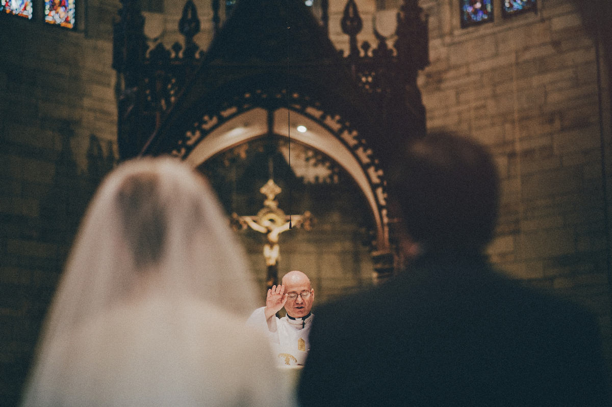 Our Lady of Sorrows church wedding