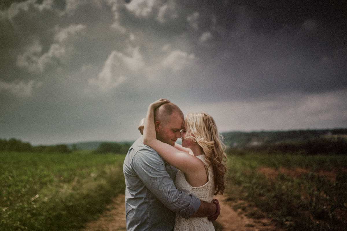organic engagement session in nj