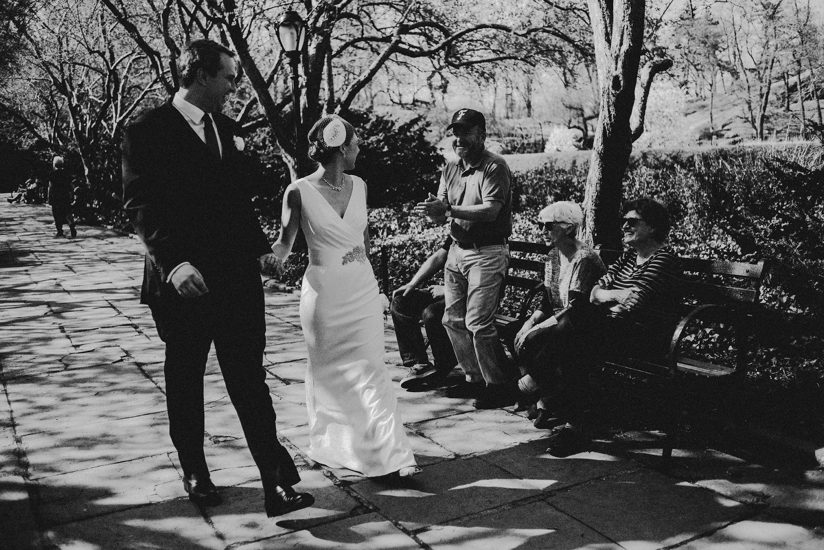 nyc conservatory gardens wedding