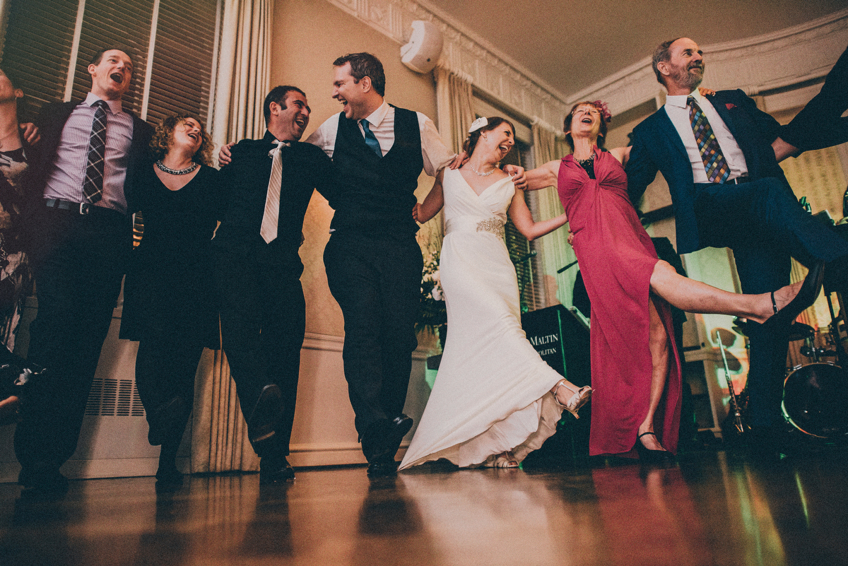 nyc wedding reception photos