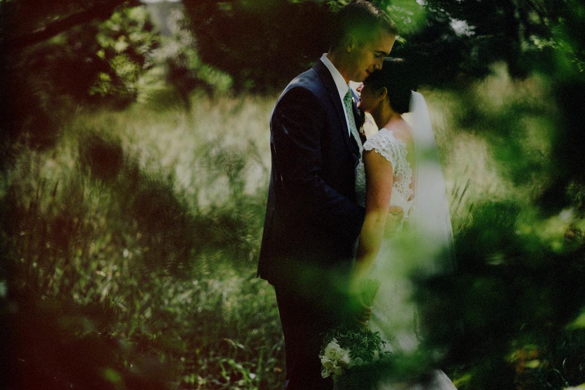 NJ outdoor wedding photos