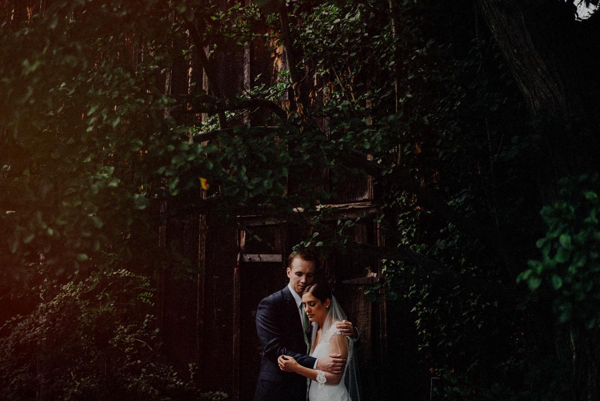 NJ outdoor wedding reception