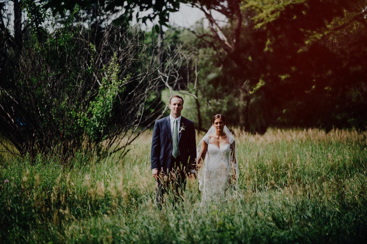 nj wedding in a field