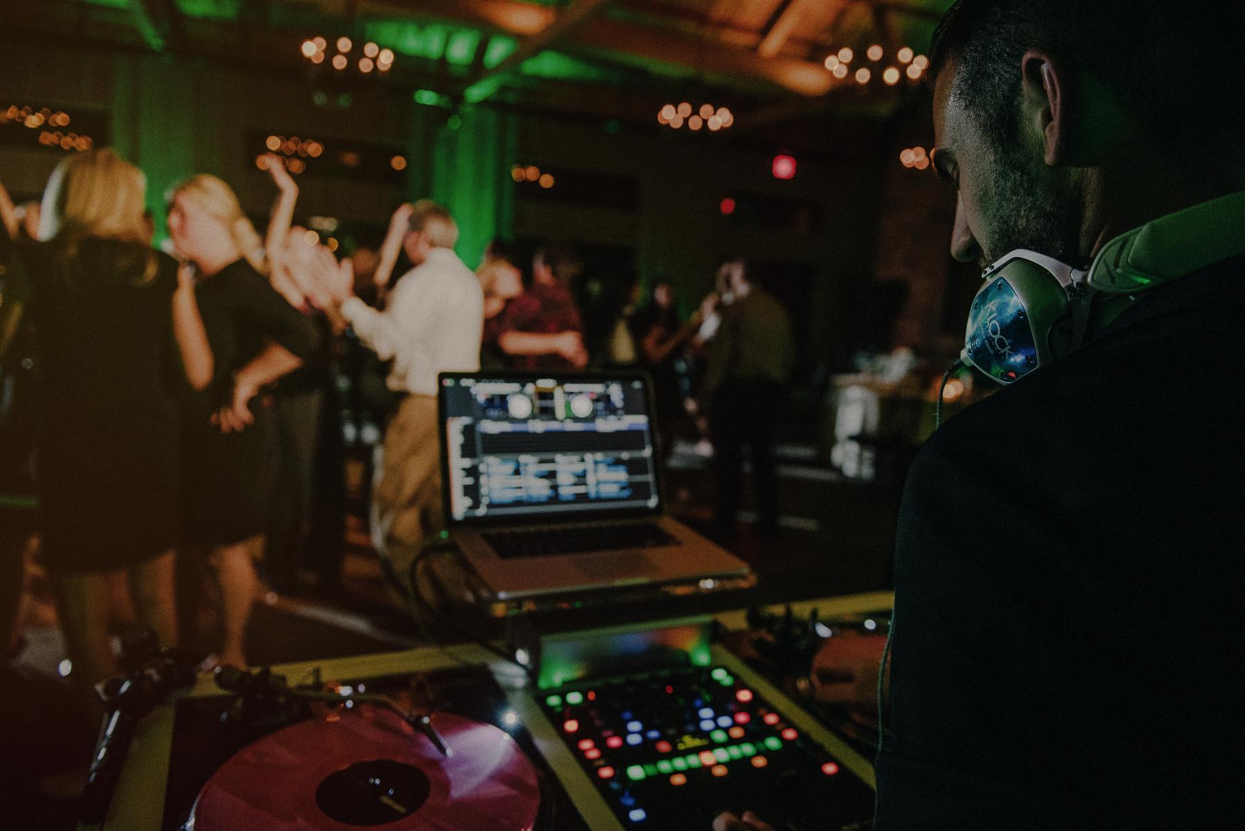 crazy wedding reception photos